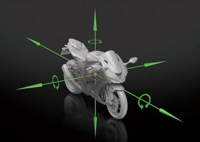 Ejes de conocimiento mejorado de la orientación del chasis de IMU