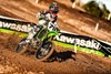 KX™100 riding right on course
